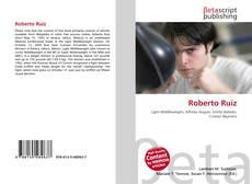 Bookcover of Roberto Ruíz
