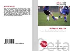 Bookcover of Roberto Rosato