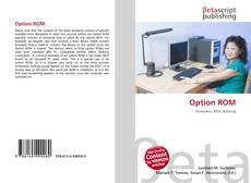 Capa do livro de Option ROM