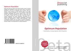 Bookcover of Optimum Population