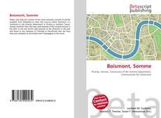 Buchcover von Boismont, Somme