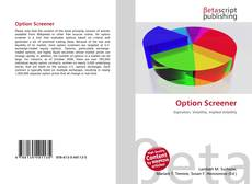 Couverture de Option Screener
