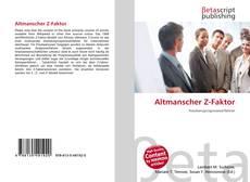 Couverture de Altmanscher Z-Faktor