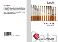 Bookcover of Altria Group