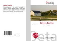 Buchcover von Bailleul, Somme