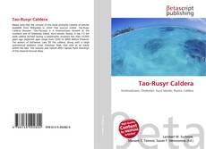 Tao-Rusyr Caldera的封面