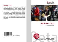 Обложка Altmarkt 13–25