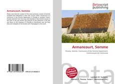 Buchcover von Armancourt, Somme