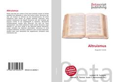 Bookcover of Altruismus