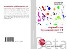 Borítókép a  Altpreußisches Kürassierregiment K 3 - hoz
