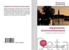 Bookcover of Altpietistischer Gemeinschaftsverband
