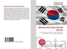 Copertina di Democratic Party (South Korea)