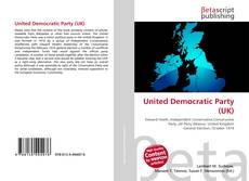 Bookcover of United Democratic Party (UK)