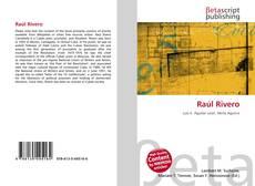 Copertina di Raúl Rivero