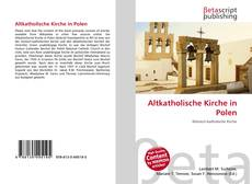 Bookcover of Altkatholische Kirche in Polen