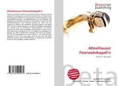 Capa do livro de Altneihauser Feierwehrkapell'n