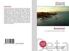 Bookcover of Banksinsel