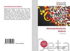 Altniederländische Malerei kitap kapağı