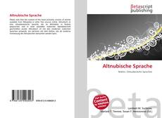 Altnubische Sprache的封面
