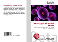 Bookcover of Cholesterylester Transfer Protein