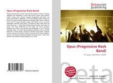 Capa do livro de Opus (Progressive Rock Band)