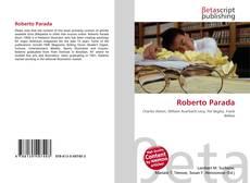Bookcover of Roberto Parada