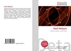 Portada del libro de Raúl Velasco