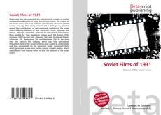 Bookcover of Soviet Films of 1931