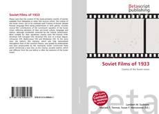 Soviet Films of 1933 kitap kapağı