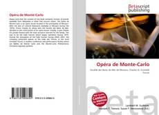 Opéra de Monte-Carlo kitap kapağı