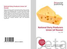 National Dairy Producers Union (of Russia) kitap kapağı