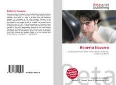 Buchcover von Roberto Navarro