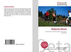 Bookcover of Roberto Mussi