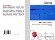Bookcover of Samuel Parsons
