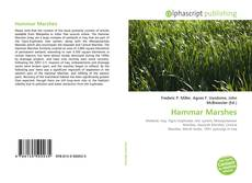 Borítókép a  Hammar Marshes - hoz