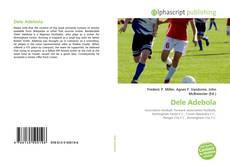 Dele Adebola kitap kapağı