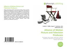 Bookcover of Alliance of Motion Picture and Television Producers