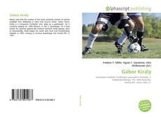 Bookcover of Gábor Király
