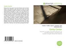 Buchcover von Getty Center