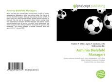 Buchcover von Arminia Bielefeld Managers