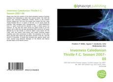 Portada del libro de Inverness Caledonian Thistle F.C. Season 2007–08