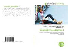 Bookcover of Université Montpellier 1