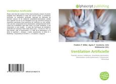 Bookcover of Ventilation Artificielle