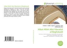 Bookcover of Hibat Allah Abu'l-Barakat al-Baghdaadi