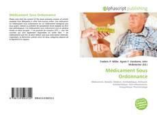 Buchcover von Médicament Sous Ordonnance