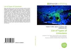Bookcover of List of Types of Limestone