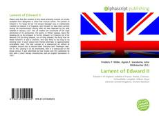 Buchcover von Lament of Edward II
