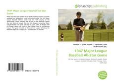 Copertina di 1947 Major League Baseball All-Star Game