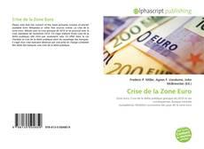 Bookcover of Crise de la Zone Euro
