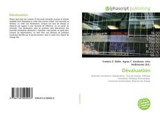 Bookcover of Dévaluation
